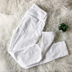 Joe's Jeans Skinny White Jeans